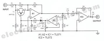 avc automatic volume control circuit automatic volume control circuit schematic
