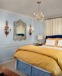 Small Chandelier For Bedroom Royal Blue Bedroom Bedroom Traditional With Small Chandelier Blue
