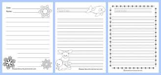 winter lined writing papers the curriculum corner  winter themed lined writing papers from the curriculum corner winter lined papers 4