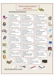 Kindergarten Middle School Riddle Worksheets | School Worksheets ...