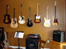 picturesque design hanging guitars on wall small home decor inspiration hang guitar v sanctuary com