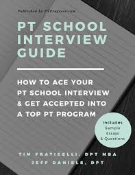 20 Sample Pt School Interview Questions