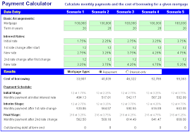 mortgage amortization comparison calculator download free excel mortgage calculator and comparator spreadsheet