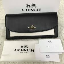 BRNEW Women s Coach SLIM ENVELOPE WALLET IN COLORBLOCK SIGNATURE, Women s  Fashion, Bags   Wallets on Carousell
