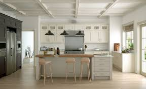 modern contemporary wakefield painted kitchen in ivory stone lava