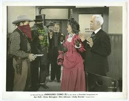 RITA JOHNSON, BYRON FOULGER original color movie photo 1947 THE MICHIGAN  KID | eBay