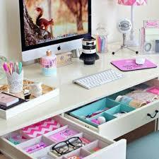 Girly Workspace Storage
