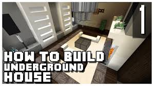 How To Make A Underground House How To Build An Underground House In Minecraft Part 1 Youtube