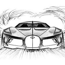 Es un dibujo de una perspectiva baja, con bastantes detalles como para tener un buen ejemplo de dibujo de coche deportivo. Bugatti La Voiture Noire 2019 El Coche Mas Caro Vendido Un One Off De 1 500 Cv