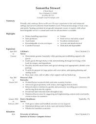 Restaurant Server Resume Best 1517 Food Service Resume Samples Resume Template Server Resume Samples