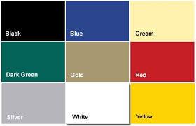 Exterior Paint Colour Chart Decorative Garden Colour Range