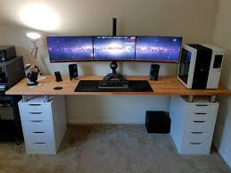 nice office desk. Nice Computer Desk Setup Ideas 15 Must See Pins Monitor With Regard To Prepare Office