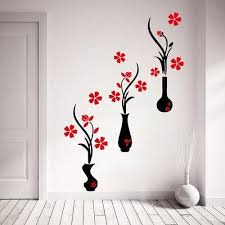 multi printed bedroom wall sticker rs
