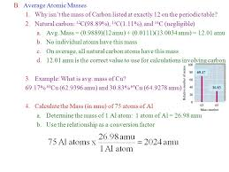 I.The Periodic Table A.Chart giving data about the known elements ...