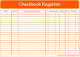 52 weeks of printables week 12 checkbook register