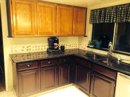 how to stain cabinets darker staining oak kitchen cabinets ideas and how to stain darker pictures