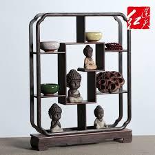 Wooden Display Stands For Figurines Halloween Vintage Home Decoration Wenge Accessories Antique Shelf 27