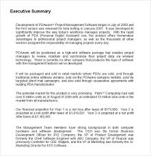 Format For An Executive Summary Research Proposal Executive Summary Format Coren Gov Ng