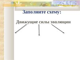 Контрольная работа Движущие силы эволюции pib samara ru Контрольная работа по теме движущие силы эволюции