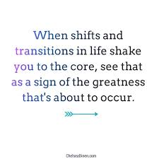 Transition Quotes