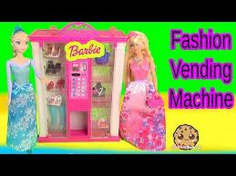 Barbie Vending Machine Impressive Barbie Fashion Vending Machine Playset With Disney Frozen Queen Elsa