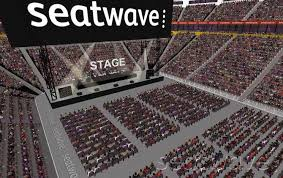 block 206 bird s eye view perspective zoomed in manchester arena seating plan