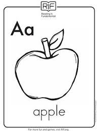 Printable Alphabet Coloring Pages Back To School Alphabet
