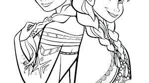 Disney Princess Coloring Pages Frozen Elsa And Anna Ice Castle Pdf