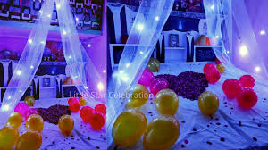 canopy decoration for birthday at home