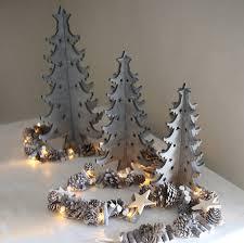 Grey Christmas Tree 28 Grey Christmas Tree Decorations 38 Stylish Christmas D