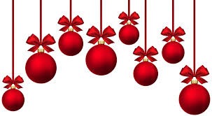 Christmas Baubles, Bows, Holidays, The Background