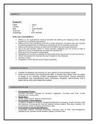 Sample Sap Resume Resume Work Template