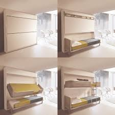 Exciting Fold Away Wall Bed For Small Bedroom Design Ideas : Creative  Design For Small Space ...