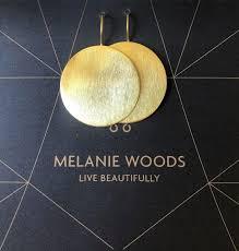 Melanie Woods Euro Gold Disk Drop Earrings – E for Ethel