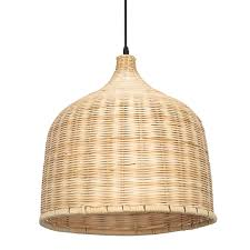 Rattan Pendant Light E27 Modern Rattan Chandelier Pendant Light Ceiling Lamp Cover For Home Indoor Decoration