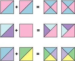 How To Make Easy Quarter Square Triangle Units
