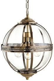 firstlight mayfair 3413ab antique brass glass globe lantern pendant light