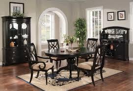 Black Round Kitchen Tables Black Kitchen Table Home Design Ideas