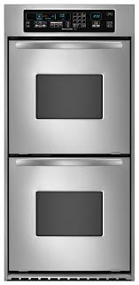 Electric Wall Oven 24 Inch Kitchenaid Kebc247vss Architectar 24 Double Wall Oven W True