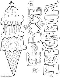Includes 6 fun summer coloring sheets for kids and 6 beautiful coloring pages for well, we say of course they shouldn't! Summertime Printables Classroom Doodles