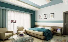 Modern Blue Bedroom Fair Modern Blue And Cream Bedroom Decoration Using Modern Round