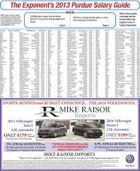 The Exponents 2013 Purdue Salary Guide Manualzzcom