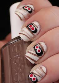 45 Scary Halloween Nail Designs And Ideas 2016