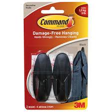 Black 3m command strips