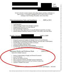 Funny Resume LOOK Guy's Resume Lists Experience As 'Marijuana Dealer And 1