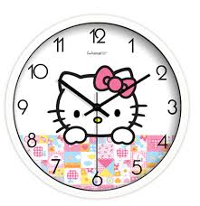 aliexpress com buy 10 inch hello kitty cute quartz watch wall 10 inch hello kitty cute quartz watch wall colock home decor for child shipping