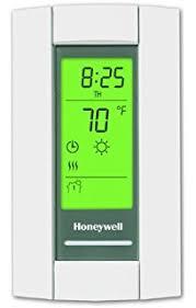 honeywell tl8230a1003 line volt thermostat 240208 vac 7 day programmble heated floor thermostat l40