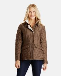 Chelsey Quilted Heritage Jacket for Women | London Fog & Chelsey Quilted Heritage Jacket with Faux Sherpa Collar ... Adamdwight.com