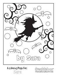 Enjoy These Free Personalized Coloring Pages From Freckleboxcom