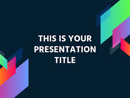 Free Modern And Colorful Powerpoint Template Or Google Slides Theme